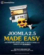 Joomla 2.5 Made Easy | Free ebook