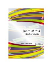 Joomla! 3 newbie's_guide