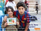 Social inclusion of the Roma commun...