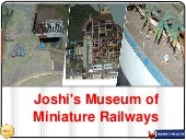 Rail Musuem In pune - Joshi's Museum of Miniature Railways