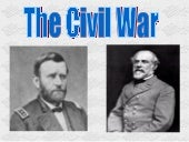 Joshs Civil War Presentation
