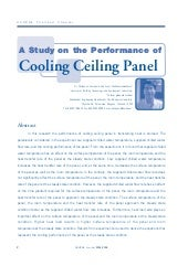 A Study on the Performance of  Cool...
