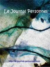 Journal personnel - Le Blog