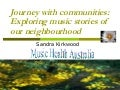 Journey With Communities: Exploring Music Stories