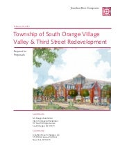 South Orange Third and Valley RFP R...