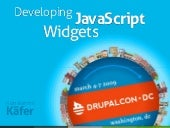 Developing JavaScript Widgets