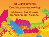JSF 2 and beyond: Keeping progress ...