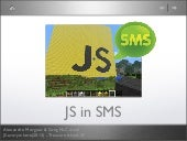 JS in SMS - JS.everywhere(2013)
