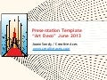 """Art Deco"" Free PPT Template Jun2013"