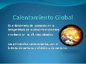 CALENTAMIENTO GLOBAL JC