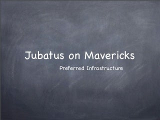 Jubatus on Mavericks