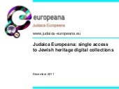 Judaica europeana part_one
