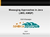 Messaging in Java