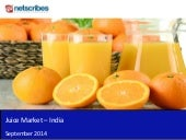 Market Research Report : Juice market in india 2014 - Sample