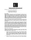 Management Consultancy Market Review - July 2009 - Don Leslie, BLT