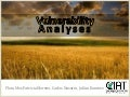 Julian R - Vulnerability analyses progress CIAT April 2012