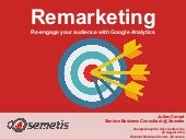 Julien cornet on gauc: Act on your data with Remarketing & create Advanced Audiences