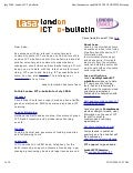 July2009 London ICT ebulletin