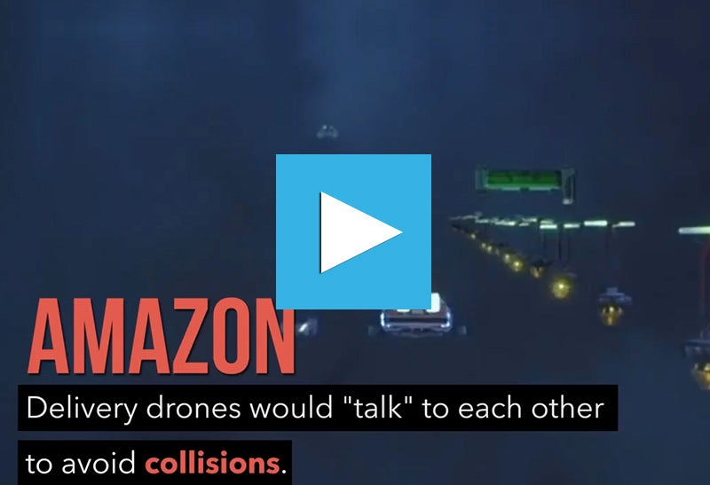 Amazon Wants Drone Highways and Facebook Looks Bullish. Click to Watch Today's Top Headlines