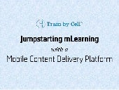 Train by Cell - Jumpstarting m lear...
