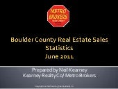 Boulder County Real Estate June 201...