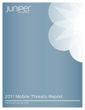 Juniper Networks 2011 Mobile Threat...