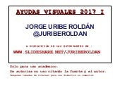 @juriberoldan Ayudas Visuales 2014 ...
