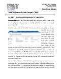 JustDial E-mails into Impel CRM!