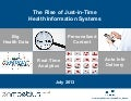 The Rise of Just-in-Time Health Information Systems