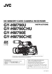 JVC GY-HM790E Operation Manual