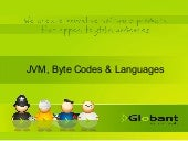 JVM, byte codes & jvm languages