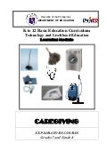 K to 12 caregiving learning modules