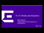 Trends in the K-12 education market and their impact on IT