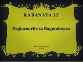 Life and Works of Rizal (Kabanata 25)