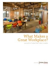 White Paper: What Makes a Great Wor...