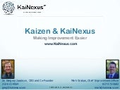 Kai nexus webinar january 2013 share