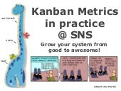 Kanban Metrics in practice at Sky Network Services
