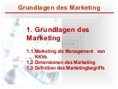 Kapitel 1   Grundlagen Des Marketing