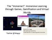 "The ""Immernet"": Immersive Learning ..."