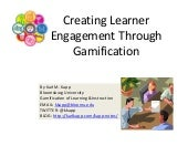 Creating Learner Engagement Through...