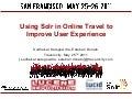 Using Solr in Online Travel Shopping to Improve User Experience