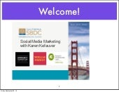 Social Media Marketing for Small Bu...