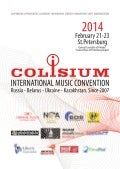 Colisium Conference Catalogue 2014 / St.Petersburg
