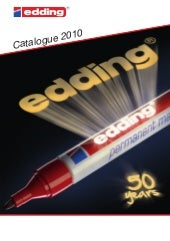 Edding Catalogue 2010