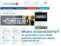 What is a Cleared Job Fair? Let me tell you!