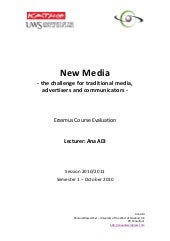 Katho new media course evaluation o...