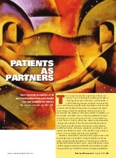 Kaufman j (2008). Patients as partners
