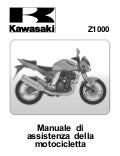 Kawasaki z1000 old manuale officina ita