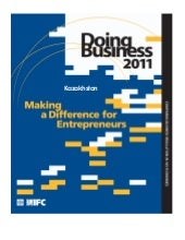 Kazakhstan - Doing Business 2011