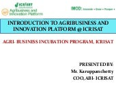 Introduction to Agribusiness and In...